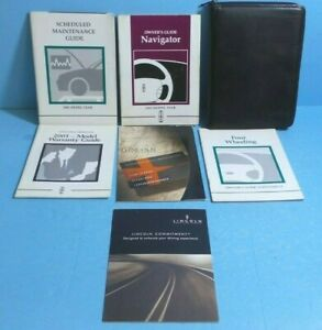 01 2001 Lincoln Navigator owners manual | eBay