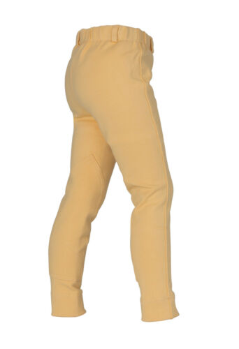 canary yellow Shires wessex childrens childs horse riding jodhpurs navy,