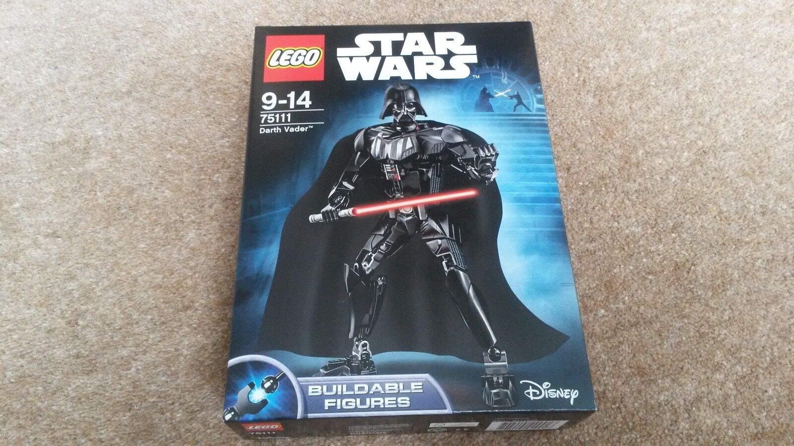 NEW Lego Darth Vader (75111) Star Wars Buildable Figure, retired product