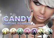 CANDY Chrom BRONZE Pulver Pigmente Effekt Nails Spiegeleffekt Chromnägel USN