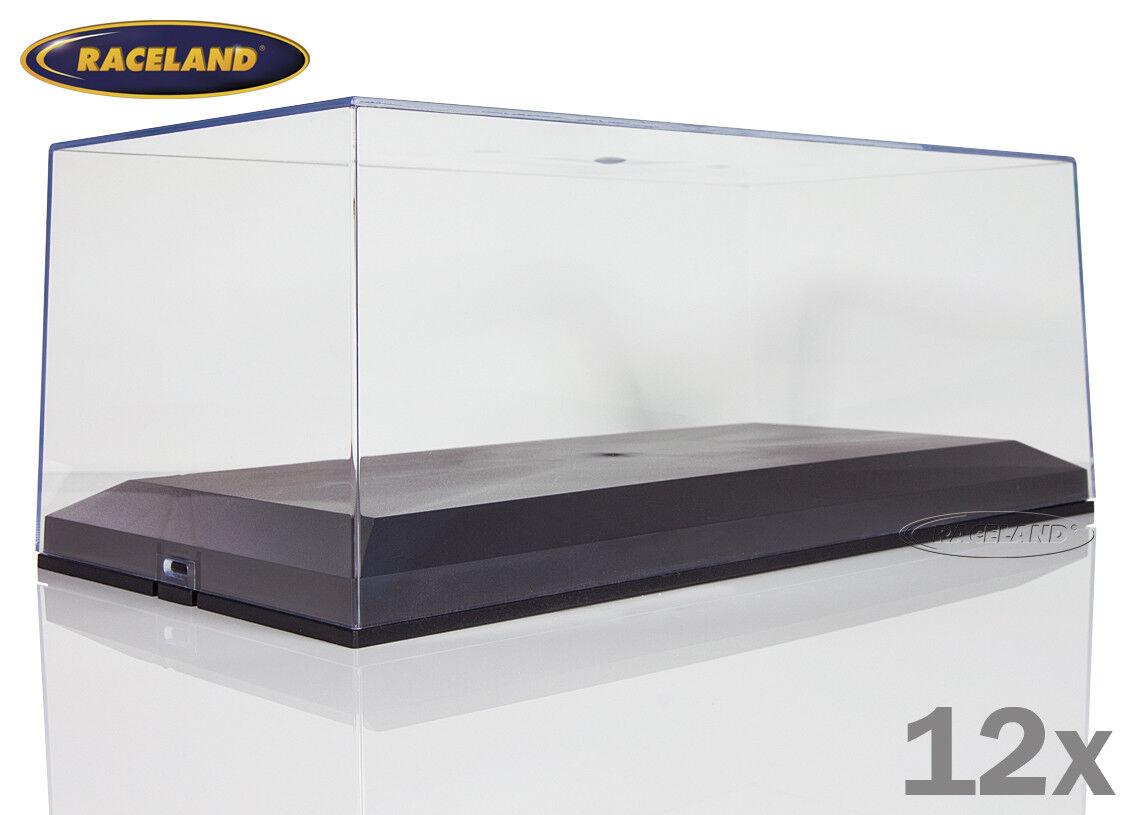 el más barato Modelo de vitrinas para 1 18 modelos, set con con con 12 unidades al precio de oferta, Raceland 1 18  precioso