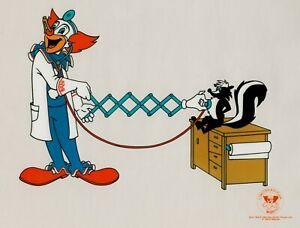 Bozo-the-Clown-034-Doctor-Bozo-034-Sericel-Serigraph-1992-Veterinarian-Vet-Skunk
