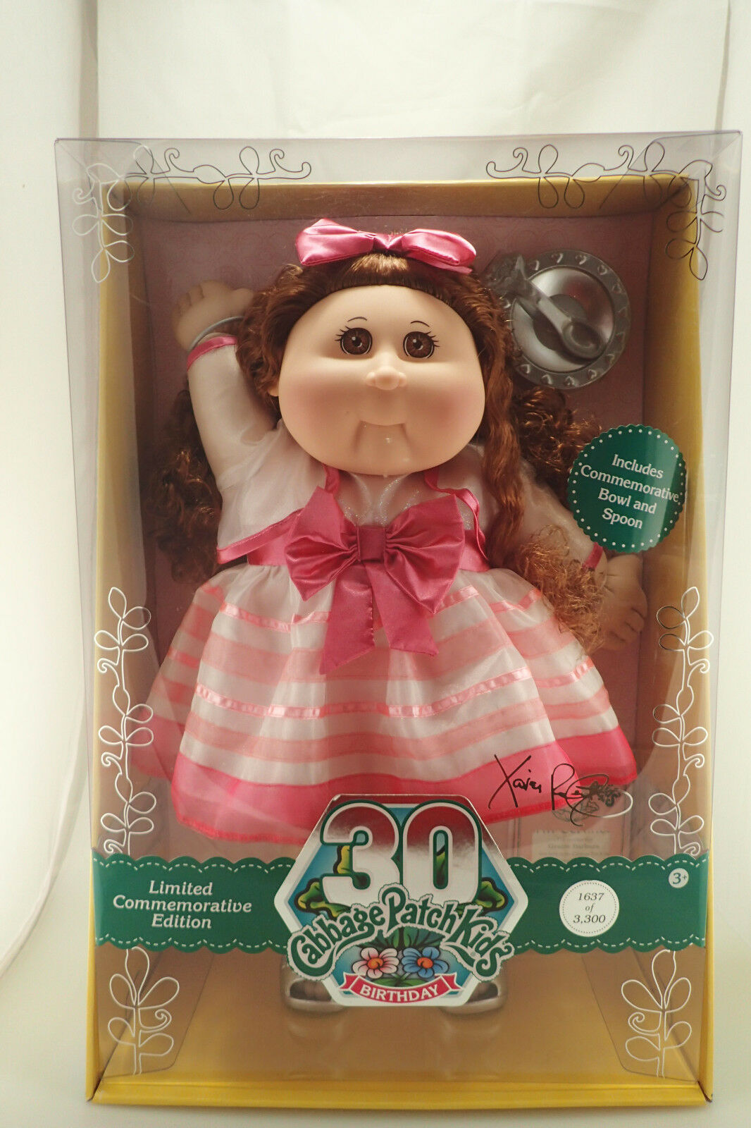 Nuevo En Caja Cabbage Patch Kids Conmemorativo 30 Aniversario de 3300 Feb 13