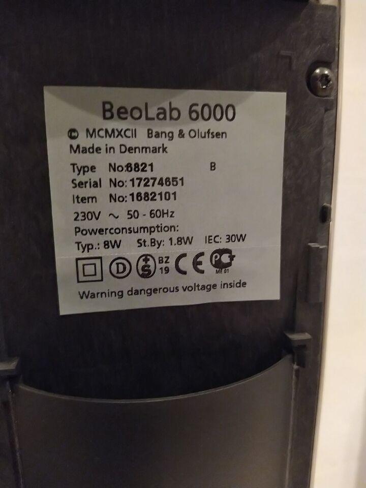 Højttaler, Bang & Olufsen, BeoLab 6000