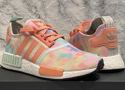 Adidas Nmd R1 Womens Sneakers Size 7 Tie Dye New Nib Ebay