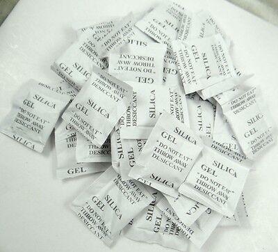 SILICA GEL 1G SACHETS Various Quantities DESICCANT 1 GRAM PACKETS//BAGS