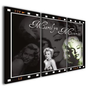 Quadri moderni cinema Marilyn monroe II stampa su tela canvas ...