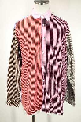 COMME des GARCONS SHIRT MEN's Shirt White & Gray & Pink