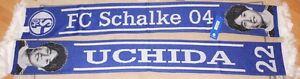 Schal-FC-Schalke-04-Atsuto-Uchida-Blau-Weiss-NEU-Sammler-155x17-cm