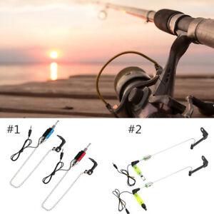 LED-Fish-Bite-Indicator-Bobbins-Hanger-Swinger-Carp-Fishing-for-Bite-Alarm-SP