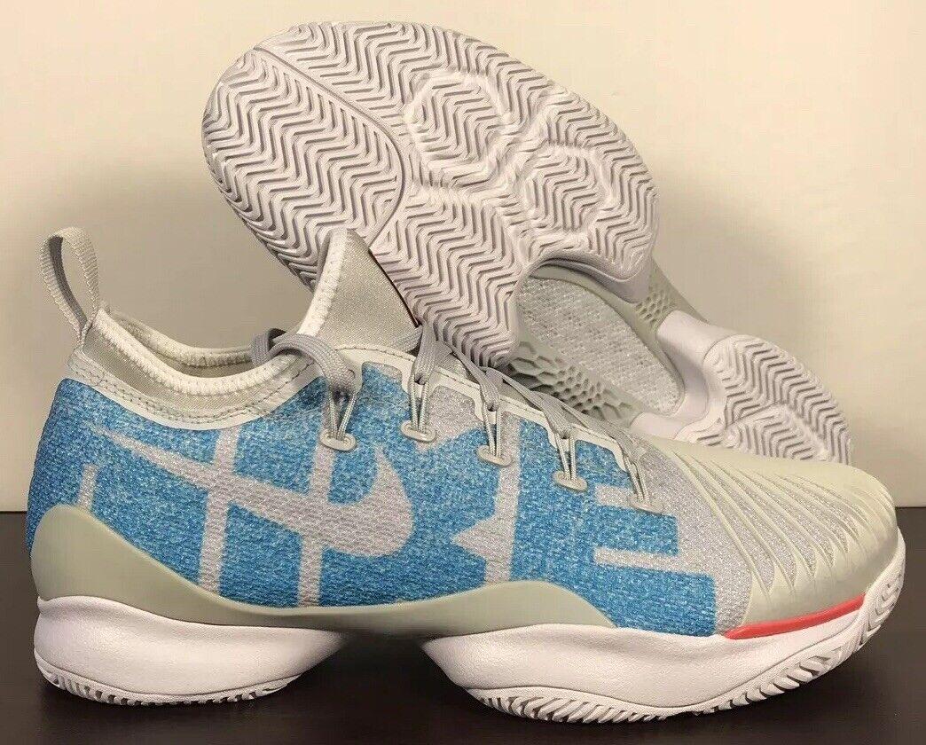 Nike Air Zoom Ultra React Pure Platinum bluee Tennis 859718-022 Women Sz 8.5-9.5