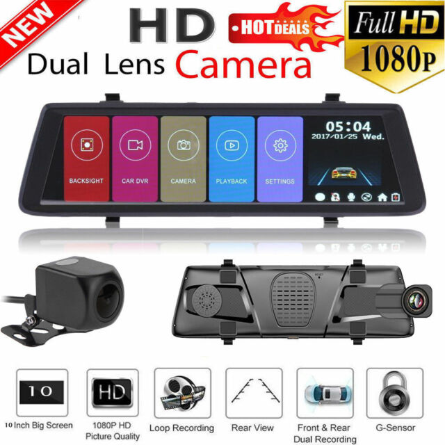 "2.0/"" Full HD 1080P Dual Lens Car DVR Camera Car Video Recorder i1000 Dash Cam"