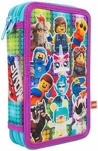 Lego-Movie-2-Filled-Pencil-Case-Kids-Stationary-22-pieces-School-Accessories