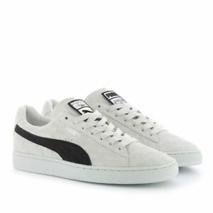 Puma Suede Classic x Panini   366323 01 White Black Men SZ 7.5 - 13 ... 617c11341