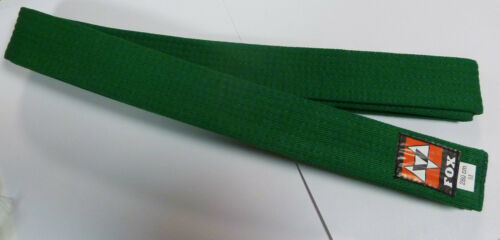 length 280cm 100/% cotton Karate//judo//martial arts belt GREEN BARGAIN offer