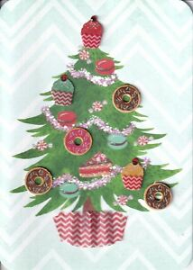 Papyrus Christmas Cards.Details About Papyrus Christmas Card Nip Msrp 6 95 Cupcake Donut Tree Card I 1