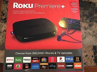 Roku Premiere+ Plus 4K HDR Streaming Media Player 4630R 2016 Model Brand New