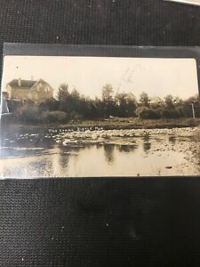 real-photo-Postcard-1911-The-Spring-Birtle-Manitoba-Hot-Spring-Indicated-A1