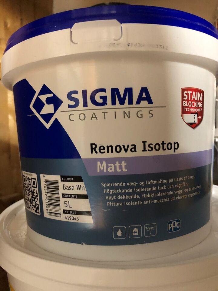 Spærrende maling, Sigma, 5 liter