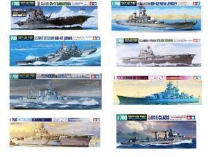 TAMIYA-1-700-Ship-Model-Kits-choix-disponible
