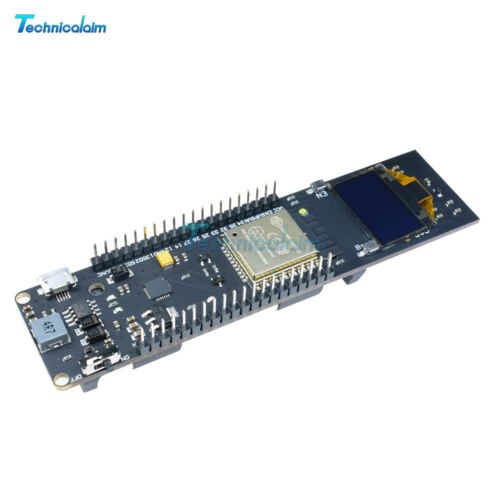 "0.96 /"" inch OLED ESP32 WiFi Bluetooth 18650 Battery Development CP2102 Board"