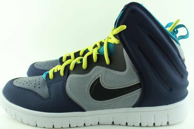 NIKE DUNK FREE NAVY MEN Size 9.5 NEW BASKETBALL AUTHENTIC RARE