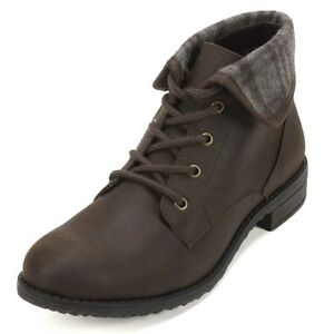 1a43c91704ac0 Details about Cliffs by White Mountain Neponset Brown Boot Women Size 7 M