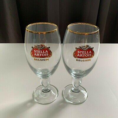 Stella Artois Chalice 33CL Glasses Beer Pub Bar Holidays Nice Free Shipping!