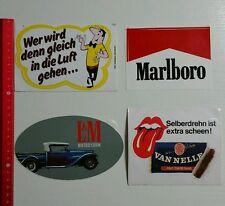 Aufkleber/Sticker: Tabak Tobacco Zigaretten Konvolut - HB Marlboro (10101662)