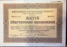 METRAWATT 1942 5000 RM Top Provenienz: Elisabeth (Elli) von Siemens ,Kurlbaum