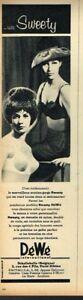 N-Publicite-Advertising-1963-Lingerie-soutien-gorge-DeWe