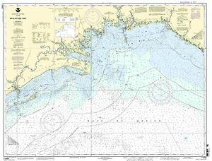NOAA Chart Apalachee Bay 30th Edition 11405