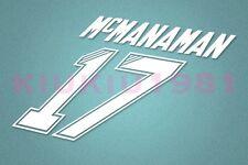 Liverpool McManaman #17 1995-1996 Homekit Nameset Printing