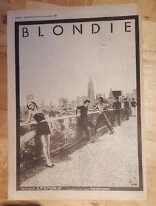 Blondie-Autoamerican-1980-press-advert-Full-page-37-x-27-cm-poster