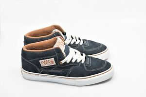 afc002ccb0 Image is loading Vans-Mens-Half-Cab-Pro-ClassicsTwilight-Blue-Suede-