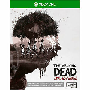The Walking Dead Telltale Definitive Series XBOX ONE (All 4 Seasons & DLC) NEW