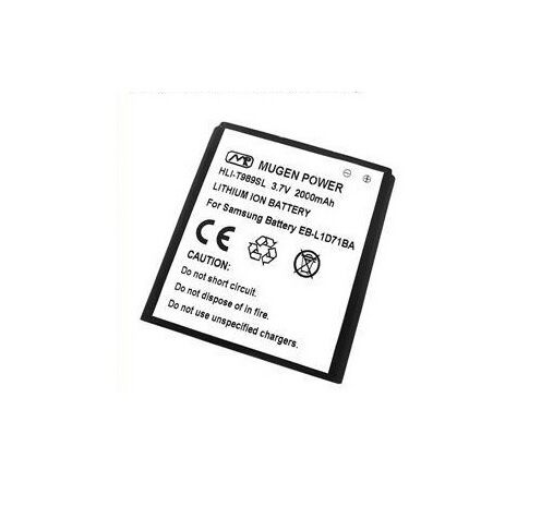 Mugen Power 2000mah Extended Battery For Samsung Galaxy S II 2 SGH-T989 T-Mobile