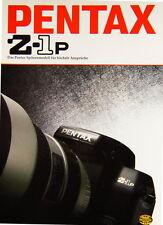 Pentax Z-1p Prospekt brochure - (0344)