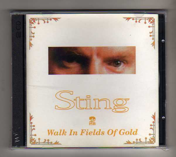 STING - WALK IN FIELD of or - 2CD  LIVE TOUR 1993 NO CDr  RARO  SEALED  MINT