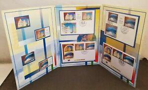 [SJ] United Nations Earth Summit 1992 Sun Mountain Rainbow (folder set) MNH