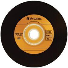 Verbatim 700 MB 52x 80 Minute Digital Vinyl Cd-r 10-disc 97935