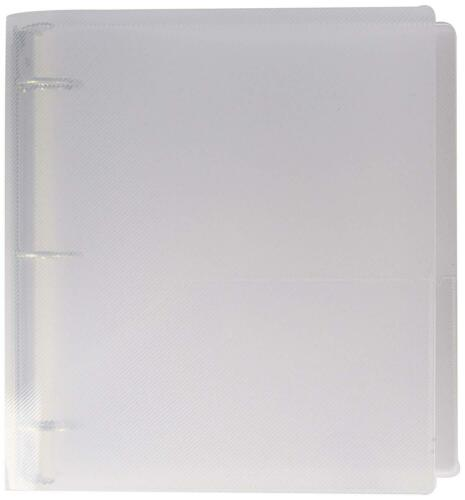Clear 3 Ring Binder Sold Individually JAM Paper Plastic 1 inch Binder
