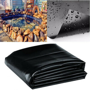 Durable Fish Pond Liner Garden Pools HDPE Membrane Reinforced Landscaping 8′-32′
