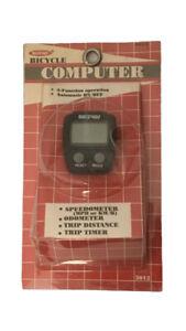 Vintage NOS Bikeway Computer, Speedometer~Odometer~Trip Distance & Timer