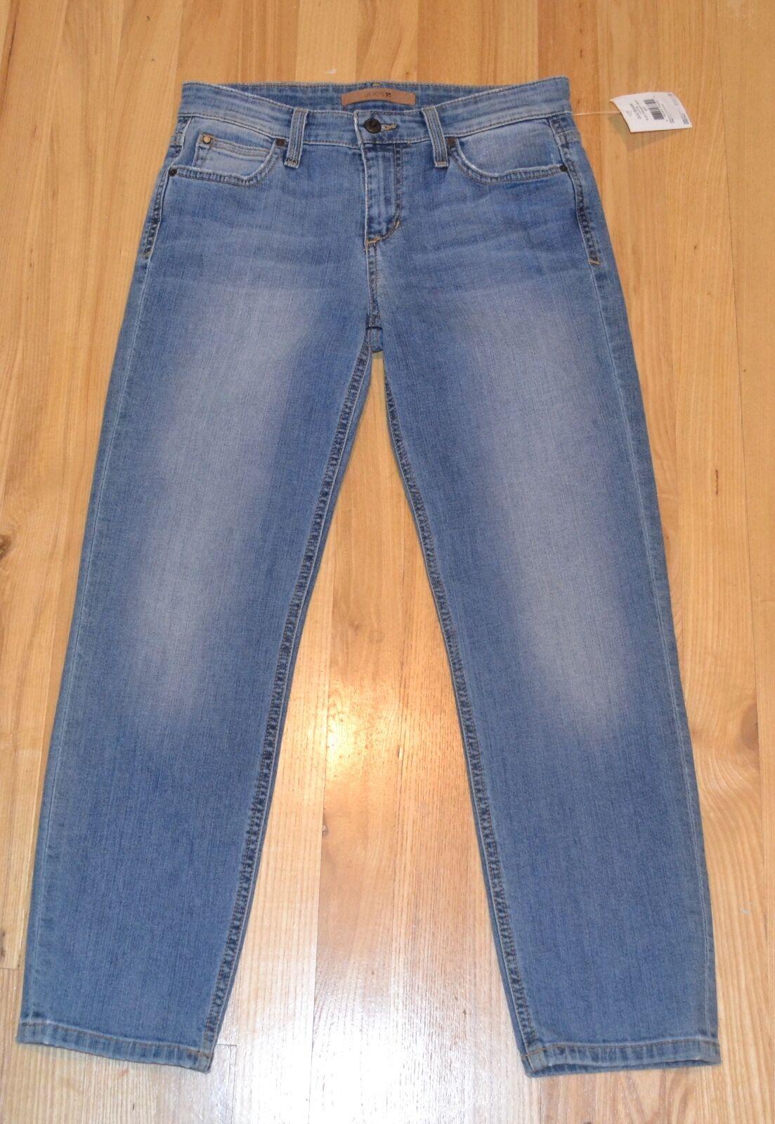NEW Joe's Jeans - Women's  Lottie Slim Straight  Crop  Jeans size 26 bluee Denim
