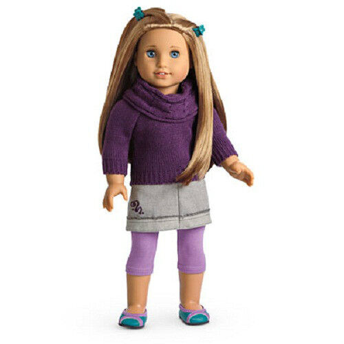 American Girl Doll McKenna/'s SCHOOL OUTFIT sweater leggings skirt SET wardrobe