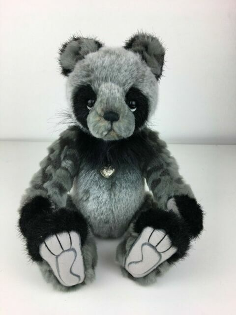 "DENNY PANDA 2018 Charlie Bear 12/"" Plush Bear by Isabelle Lee CB181816C NEW!"