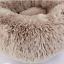 Lit-pour-Chien-chat-en-peluche-doux-Tapis-Panier-Corbeille-Couchage-Panier-XL-XS miniature 8