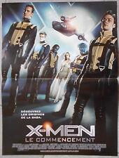 Affiche X-MEN LE COMMENCEMENT First Class JAMES McAVOY Jennifer Lawrence 40x60