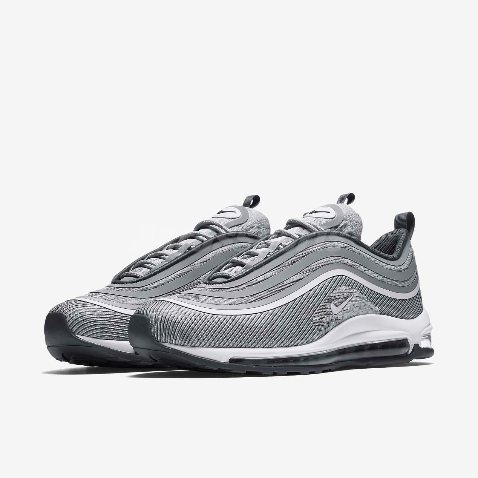 NIKE AIR MAX 97 UL '17 WOLF GREY-WHITE-DARK GREY SZ 8.5 [918356-007]